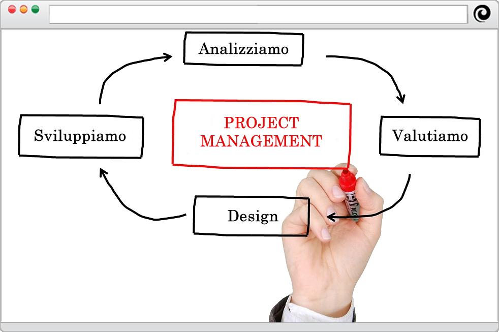 Ciclo produttivo siti web, e-commerce, software