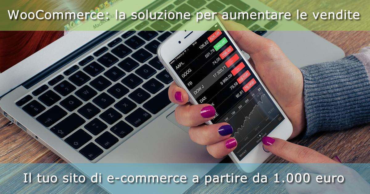 Con WooCommerce il tuo sito di e-commerce a partire da 1.000 euro